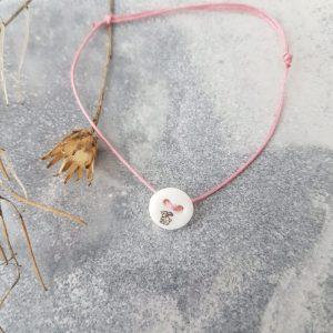 armband hase rosa